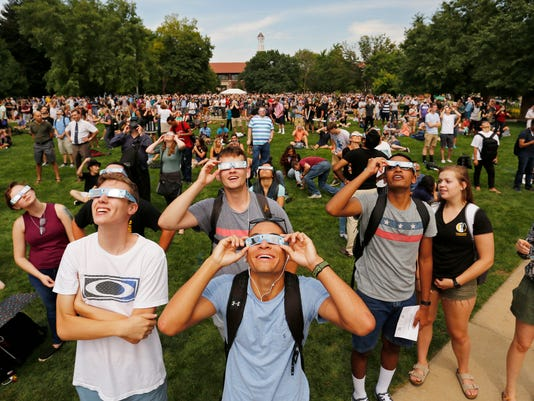 LAF Eclipse viewing parties at Purdue