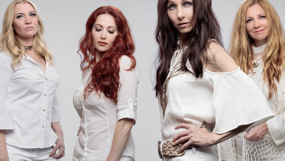 All-female Led Zeppelin tribute band Zepparella play