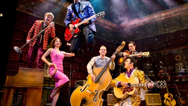 "A scene from ""Million Dollar Quartet"""