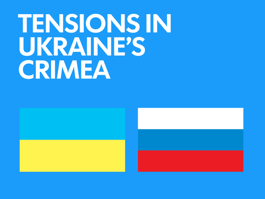 Tensions in Ukraine's Crimea