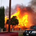 Fillmore house destroyed by fire