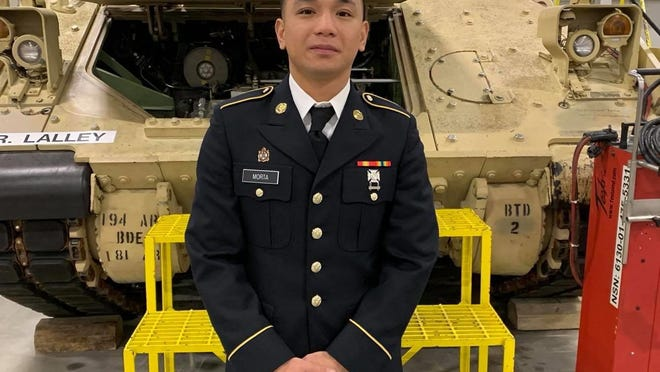 Fort Hood officials on Tuesday identified a soldier who was reported dead last week as Pvt. Mejhor Morta.