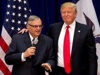 President Donald Trump pardons former Sheriff Joe Arpaio