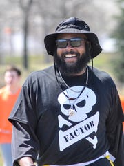 T.J. Duckett, former MSU and NFL football player founded the Battlefield Brawl and it continues with its ninth year Sunday, April 22, 2018.