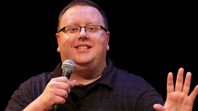 Comic Jason Schommer was the longtime opener for Louie Anderson.