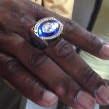 Derrick Brooks ring ceremony