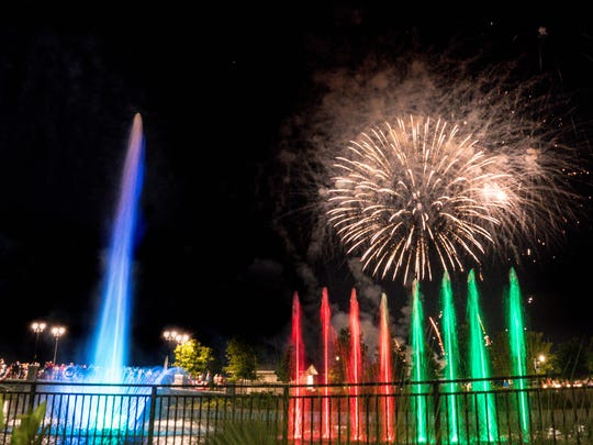 A spectacular fireworks show will be part of the Summer