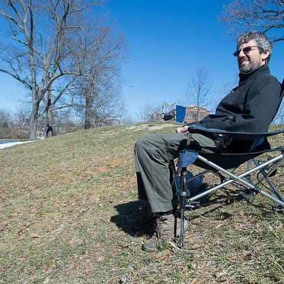 Alan Davis started Blue Ridge Chair Works, making durable wooden camp chairs, in 2000. The company is one of about 30 members of the Asheville-based Outdoor Gear Builders of WNC.