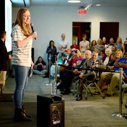 Chelsea Clinton talks climate change, Appalachian issues