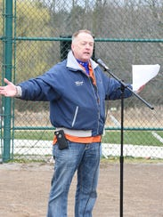 Plymouth-Canton Little League president Jeff Holt is