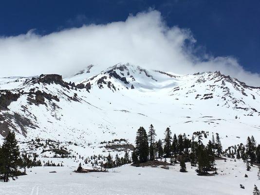 Mt Shasta ski line