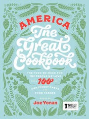 America the Great Cookbook features an intimate look inside the lives of 100 food personalities.