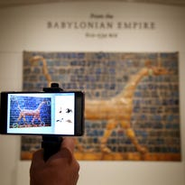 Like Pokemon Go for art lovers, Lumin brings augmented reality to DIA
