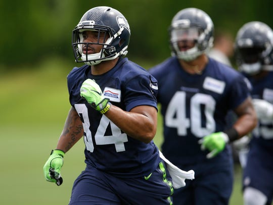 Thomas Rawls is the Seahawks' incumbent starter at
