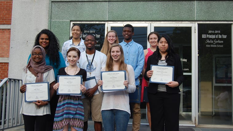 Guilford County Students Selected as 2015 Top Poets