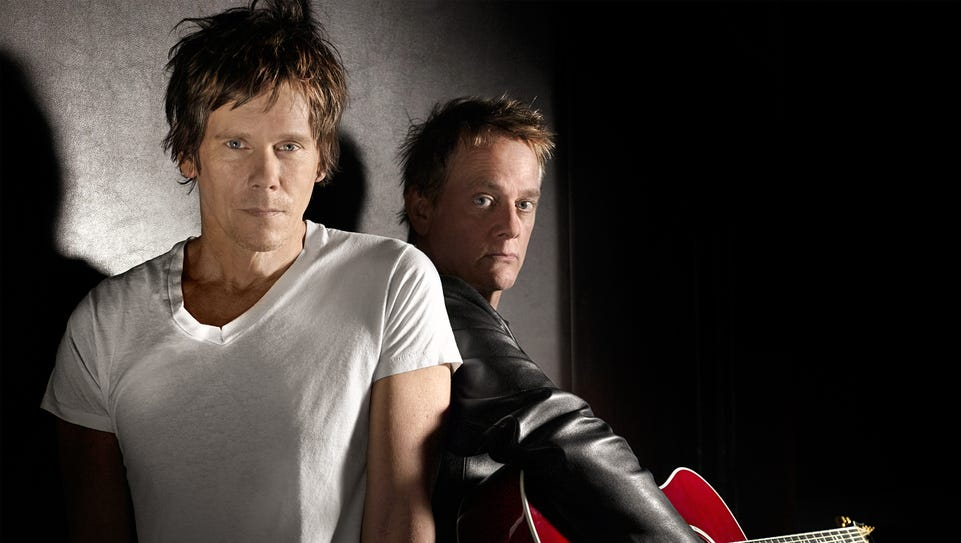 Actor Kevin Bacon and TV and film composer Michael