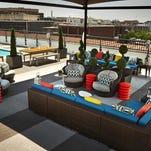"Named ""One of Best Rooftop Pools in America"" by USA Today, The Rooftop at The Embassy Row Hotel offers a heated swimming pool with stunning views, refreshing drinks and delicious food."