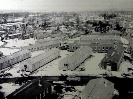 Camp Shanks in Orangeburg.