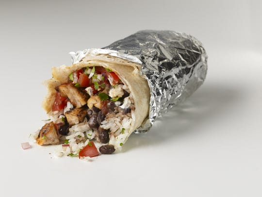 Burritos at Chipotle Mexican Grill feature flour tortillas,