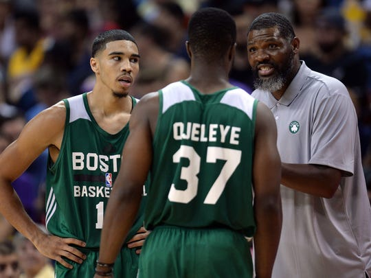 Walter McCarty has served as an assistant coach under Brad Stevens with the Boston Celtics the past seven years.