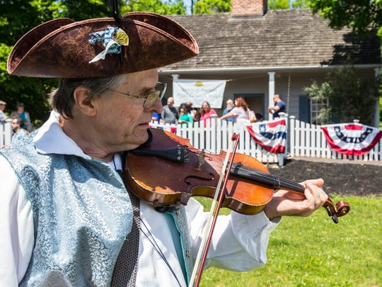 Celebrate History Day is from 10 a.m. to 4 p.m. Sunday, May 20, atEast Jersey Old Town Village and the Cornelius Low House.