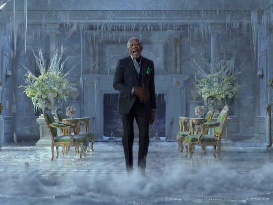 This photo provided by PepsiCo shows Morgan Freeman