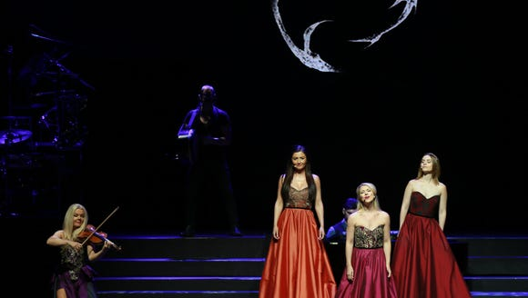 The group Celtic Woman take the stage Friday at the