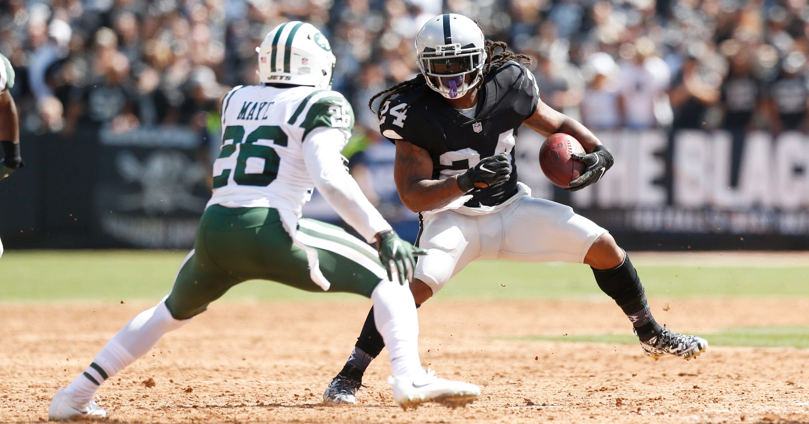 Marshawn Lynch scores in homecoming as Raiders rout Jets 4b4867bdd