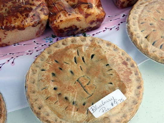 Freshly baked pies also can be bountiful at farmers