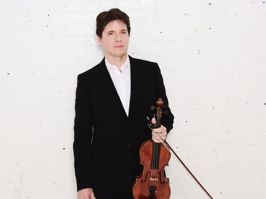 Joshua Bell is a Grammy Award winner who collected Indiana Living Legend honors from the Indiana Historical Society in 2000.