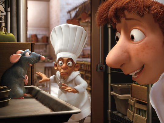 "The rodent tale ""Ratatouille"" leads contenders for the Annie Awards honoring animation, picking up 13 nominations, among them best picture and voice-acting honors for Patton Oswalt, Ian Holm and Janeane Garofalo."
