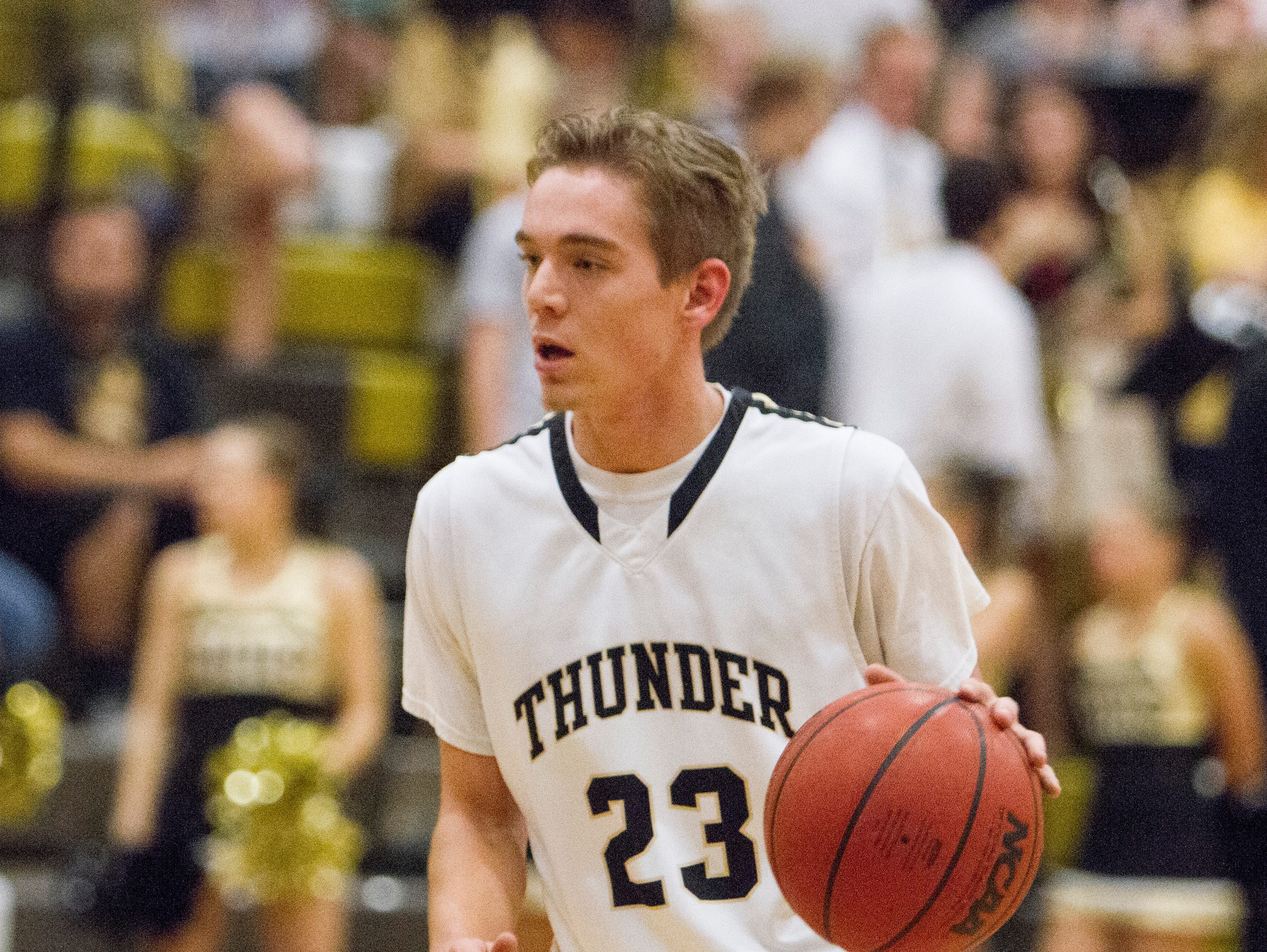 Desert Hills advances to the quarterfinals with a 56-49 win over Tooele Saturday, Feb. 20, 2016.