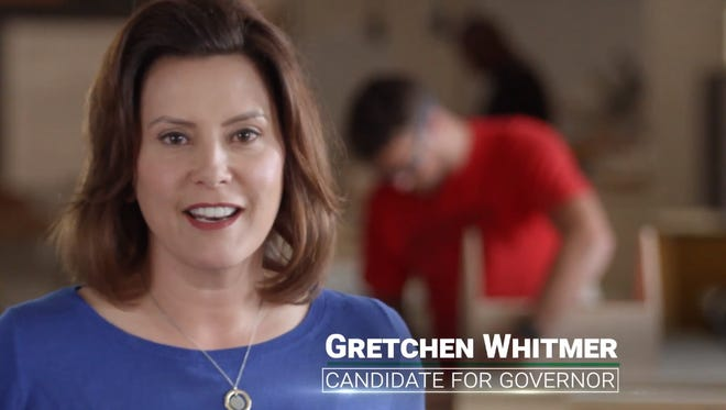 A new ad from Build a Better Michigan features Democrat for governor Gretchen Whitmer