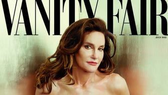 Caitlyn Jenner on 'Vanity Fair' in first public appearance as a woman.