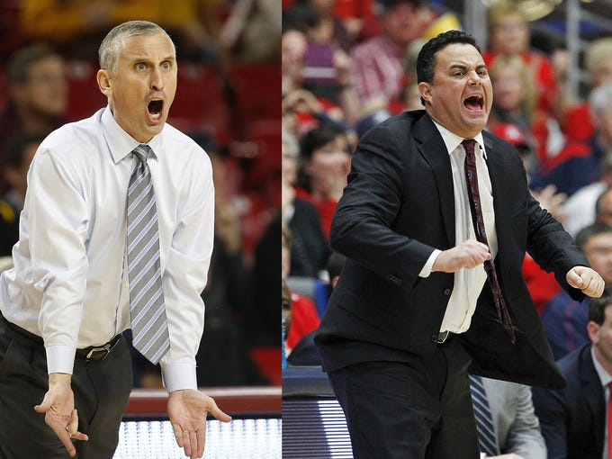 ASU's Bobby Hurley and Arizona's Sean Miller aren't
