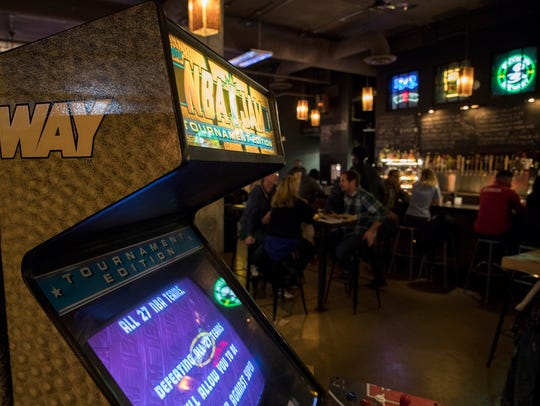Barcade in Newark