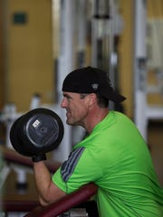 Cape Coral resident Paul McMurrain regularly works out at the Wellness Center in Cape Coral.