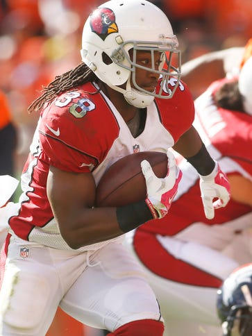 RB Andre Ellington leads the Cardinals' ground game.