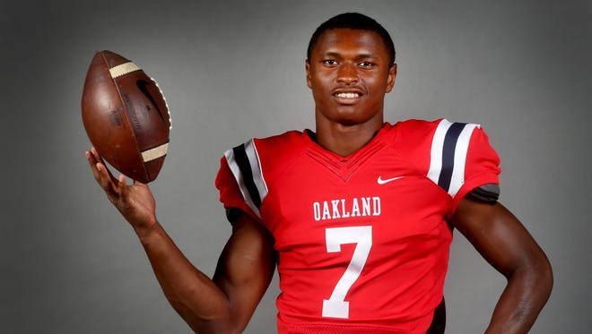 Oakland's JaCoby Stevens has enrolled early at LSU.