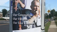 White supremacist propaganda posted in several New Jersey towns
