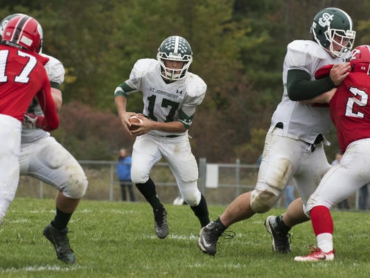 St. Johnsbury vs. CVU Football 10/01/16