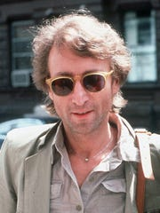 John Lennon arrives at The Hit Factory, a recording studio in New York City in this Aug. 22, 1980 file photo.