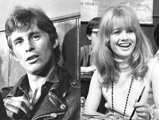 Christian Roberts as Denham and Judy Geeson as Miss