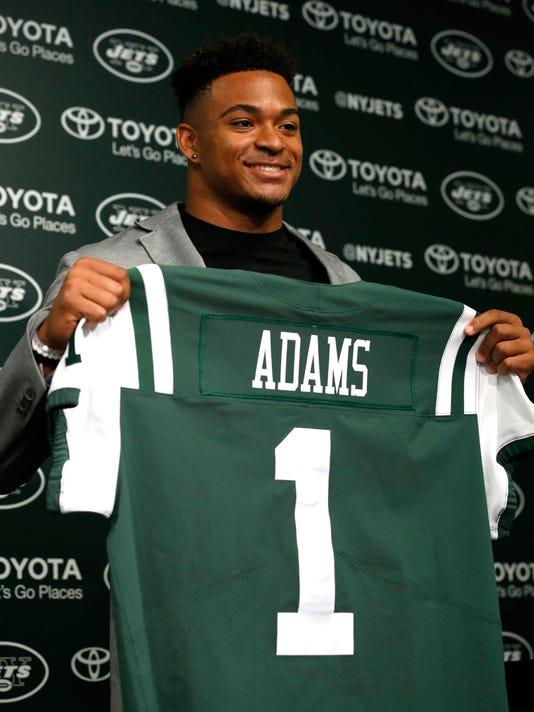 NFL: New York Jets-Jamal Adams Press Conference