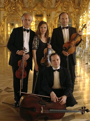 This Russian string quartet is performing for inmates in Susanville Thursday, then for the general public on Friday.