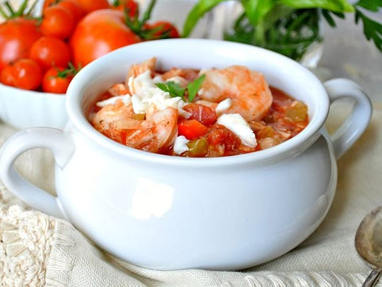 One-Pot Italian Cioppino in the Slow Cooker