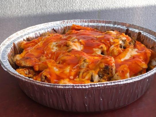 Fatso's Pizza & Grill in Oxnard also serves buffalo