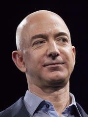 Amazon.com founder and CEO Jeff Bezos