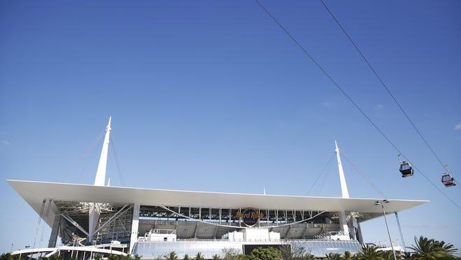 Hard Rock Stadium.