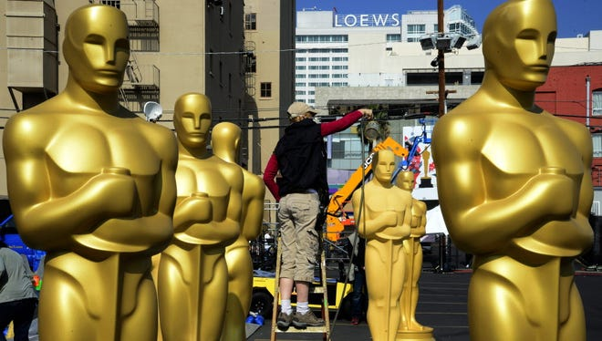 Preparing Oscars in 2015.
